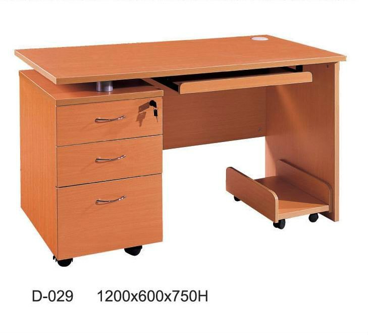 wooden office computer table price