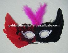 Colorful Feather Party/Carnical/Masquerade Mask