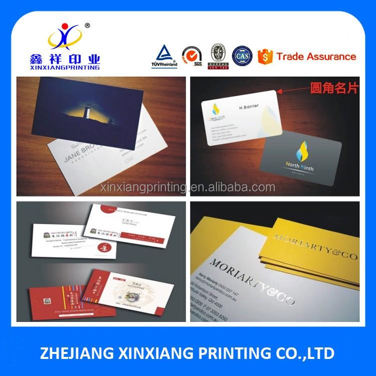 Fashion Cheap New Design Letterpress Custom Printed Handmade Paper Designer 3d Professional Business Visiting Card