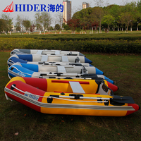 rigid fishign boat rubber boat inflatable sailing boat with outboard motor