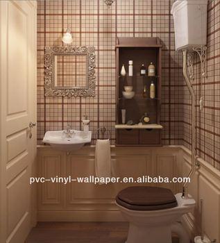 Nonwoven Wallpaper Waterproof Bathroom