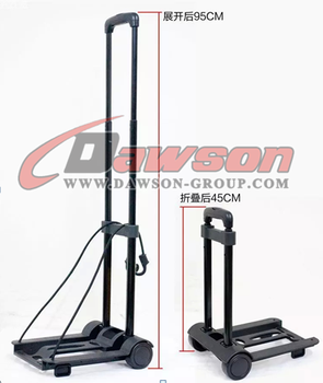 Dawson foldable lightweight plastic hand trolley