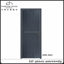 Modern ecological HPL wooden doors designs with fireproof performance by Foshan factory