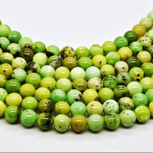 Wholesale A Grade Natural Stone China Chrysoprase Beads