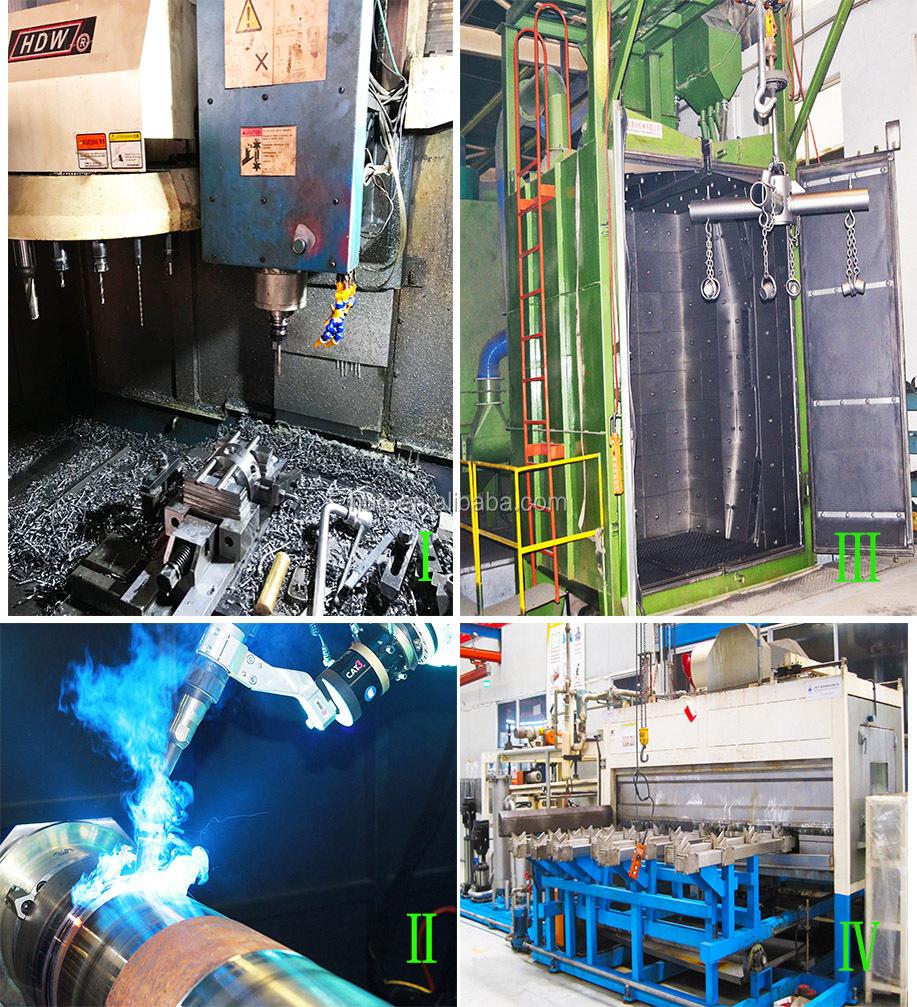Automatisé conteneur palan vérin de levage hydraulique et groupe hydraulique