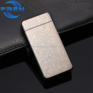 FR-607 High quality Tesla cigarette lighter, double arc plasma electronic lighter with gift box packing
