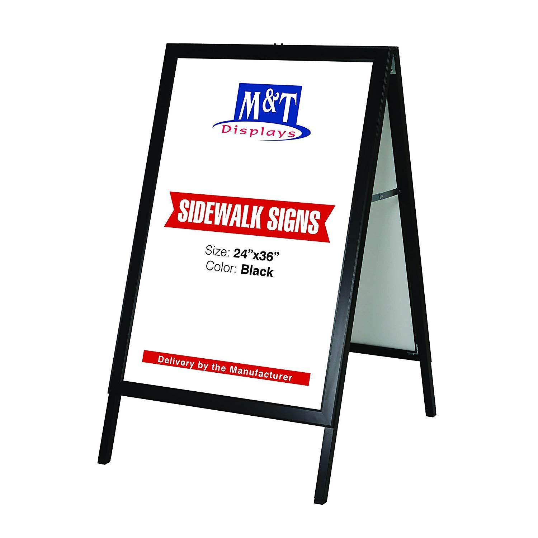 Get Quotations 24 X 36 Slide In A Frame Display Advertising Menu Board Sidewalk