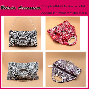 Fashion Sexy Trendy Leopard Print Handbag women Clutch Evening Bag