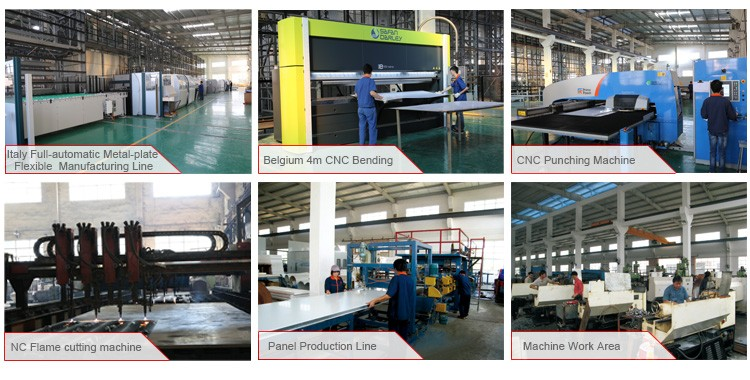 Chinese Guangzhou Factory Supply Paint Spray Booth With Emergency ...