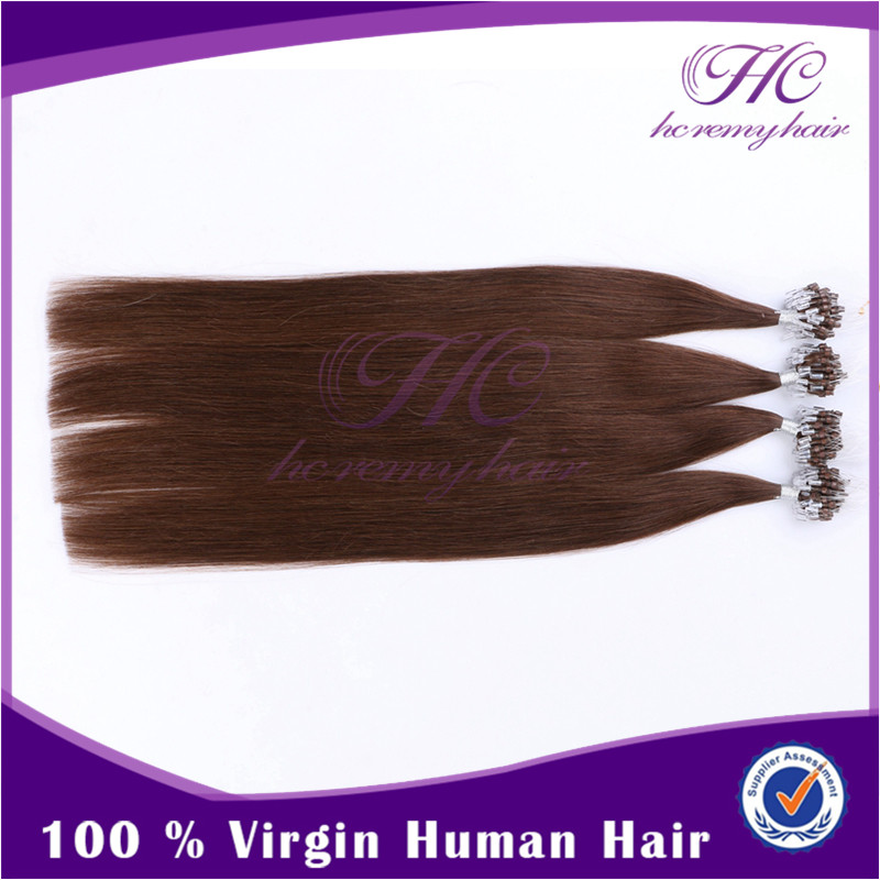 Chinese Imports Wholesale 160G Light Purple European Micro Ring Remy Hair Extensions