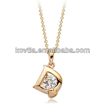 selection fit dumbbell pendant necklace plated product weight triple ebay plate gold