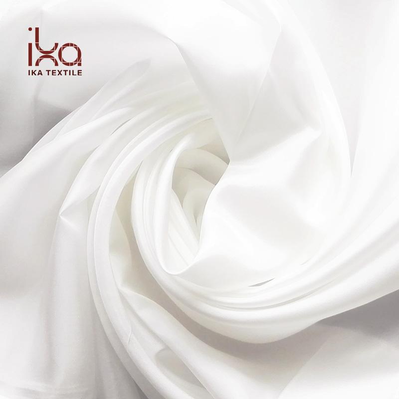 Оптовая продажа Неокрашенная натуральная белая китайская чистая шелковая ткань Habotai
