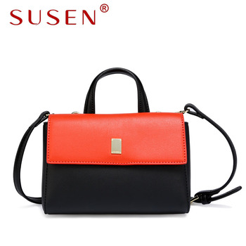 SUSEN handbags 2017 new China Customized Fashion Trendy Women Crossbody  Bags Messenger bag New Brand Lady 73e52f34fdba1