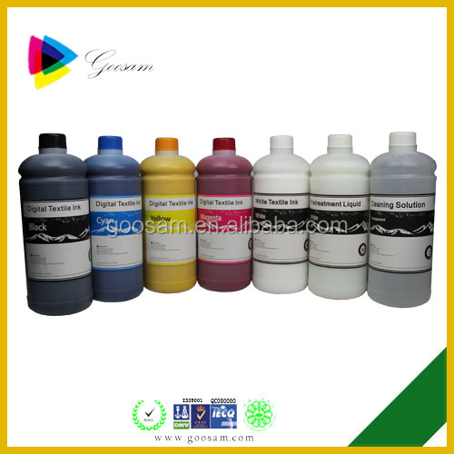 Pigment Ink for Cotton T Shirt Printing Textile Ink for APEX M2 DTG Textile Printer