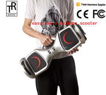 CE ROHS Certificated self balance scooter 6.5 inch hoverboard with bluetooth speaker