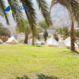 6M outdoor bell tent for camping family equipment