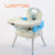 Plastic best price toddler kids booster seat safe feeding eating chair that attached to chair with tray