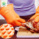 Dishwashing for candy making silicone heat resistant gloves