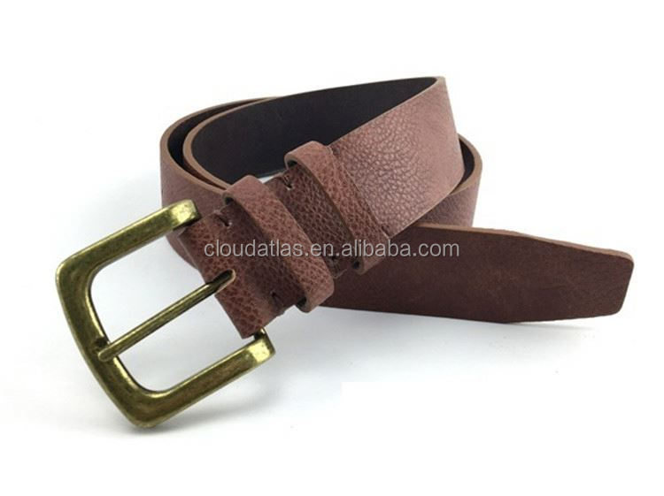 New selling custom design good quality formal leather belts innovative men's belt