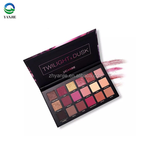 Ucanbe new 18 color rose gold eye shadow makeup palette