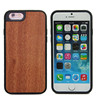 New arrive blank bamboo wood phone case, 100% natural wooden Laser engraving case for iphone 6s