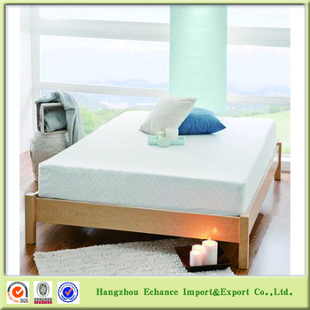factory oem size 2 layers memory foam mattress 40 density
