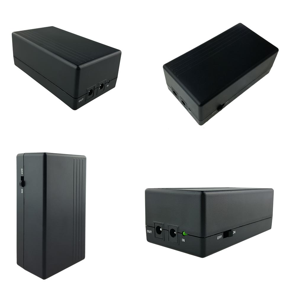 High Capacity Dc Output Ups System 12v 2a Mini Ups For