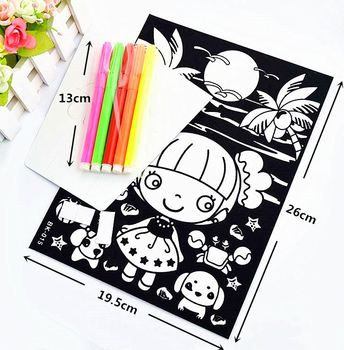Toy Customized Coloring Velvet Fuzzy Coloring Posters - Buy ...