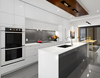 Price of kitchens in China design fitted kitchen item