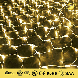christmas honey comb net lights IP65 waterproof outdoor decorating