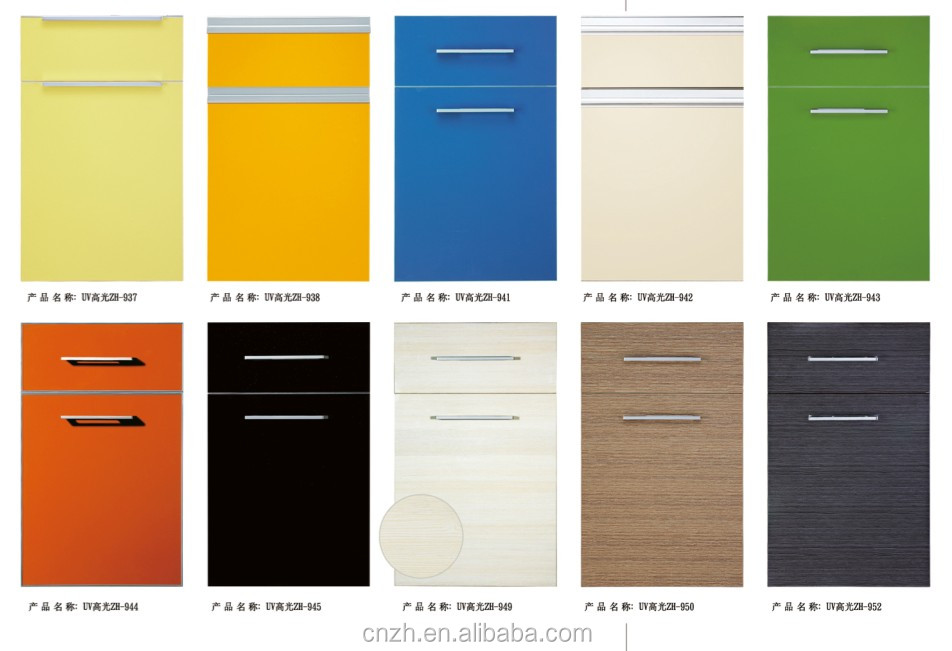 2014 new mdf kitchen <strong>cabinet</strong> ( PVC/ UV /Lacqure )