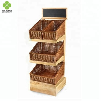 Wholesale Good Quality Wooden Bakery Rack Bread Basket Display Case Buy Wood Bread Basket Displaybakery Bread Display Casewood Bread Display Rack
