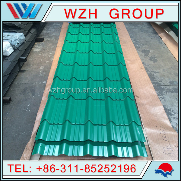 Prepainted Corrugated Gi Color Roofing Sheets Sheet Metal