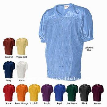 13681c458 Various Colors Plain Custom American Football Jerseys - Buy Custom ...