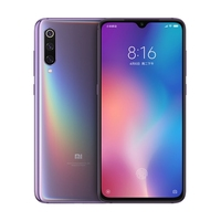 Dropshipping xiaomi mi 9 6/128GB 48MP Triple Cameras 6.39 inch Water-drop Screen Snapdragon Octa Core xiaomi mobile phones 4g
