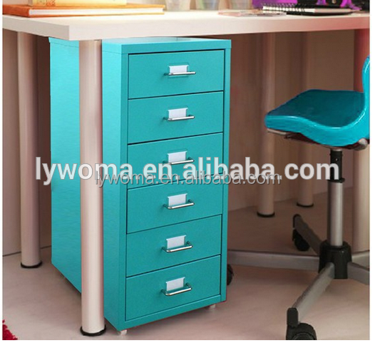 Haute qualit sous le bureau coloful cor enne mobile 6 for Meuble bureau qualite
