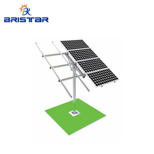 Customized Pv Ground Mounting Racking Systems Solar Panel Pole Mount Brackets