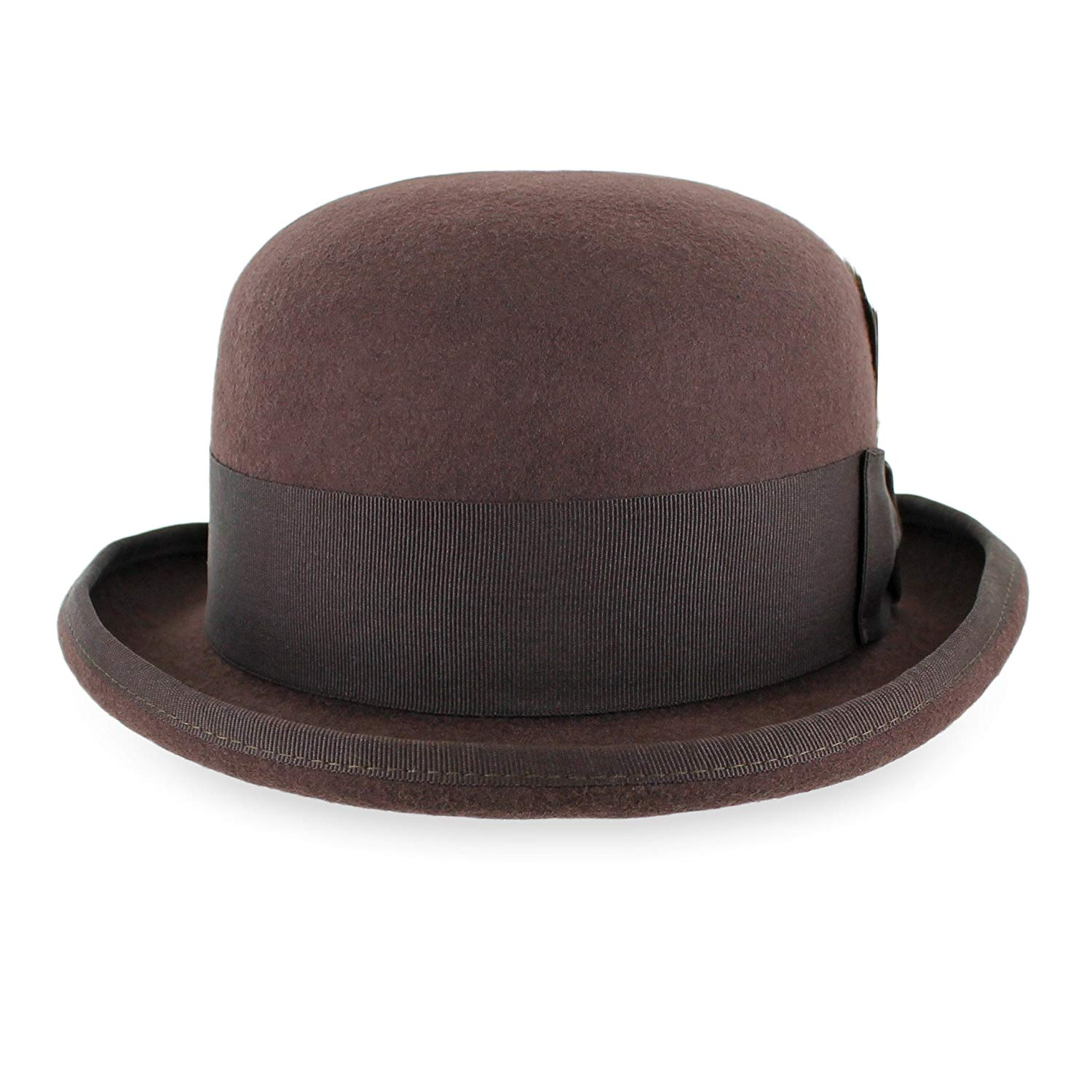 8b430b91 Get Quotations · Belfry Bowler Derby 100% Pure Wool Theater Quality Hat in  Black, Blue Grey