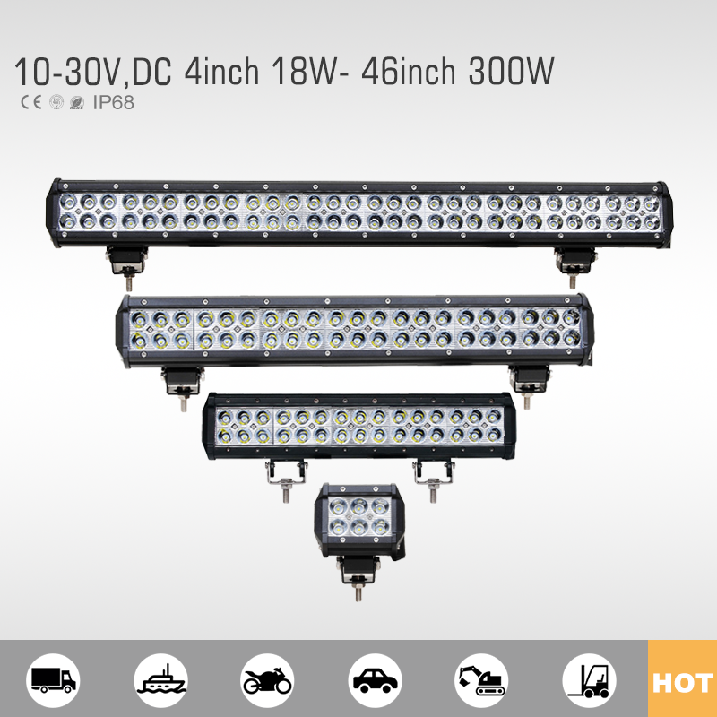 Most reliable 1 year warranty spot flood beam led light bar