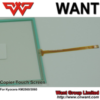 For pantalla tactil kyocera km-2560,km2540,km3040,km3060,copier touch panel screen