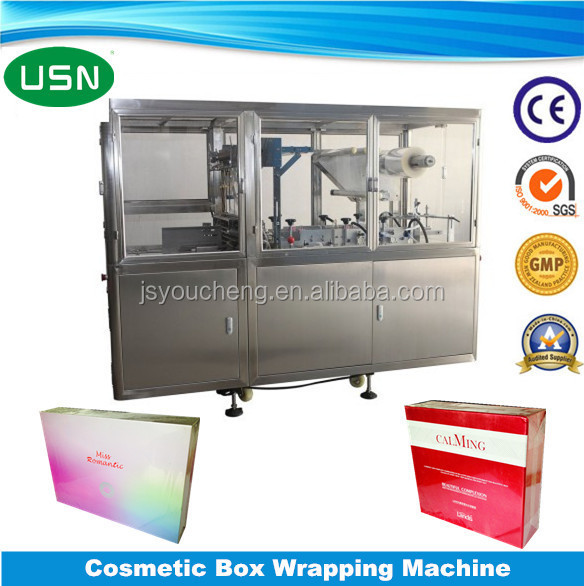 Automatic mask box wrapping machine