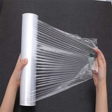 Transparent germany stretch wrapping film for pallets package