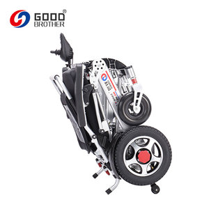 Whole Vehicle Adopts The Aluminum Alloy Frame Foldable Electric Wheel Chair