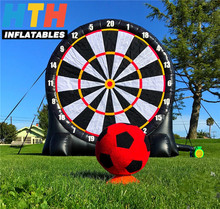 Hot sale inflatable dart game inflatable soccer darts