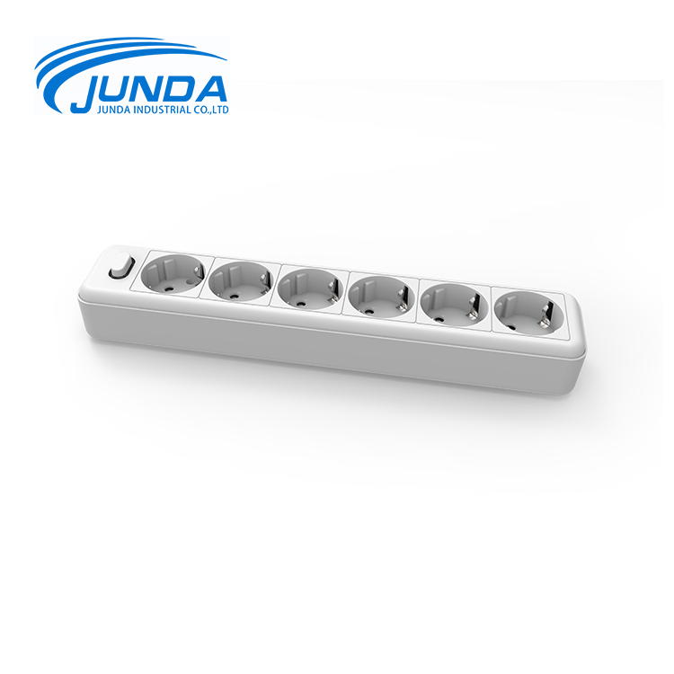 Good quality best price 6 plug outlet power extension european schuko australian electrical sockets