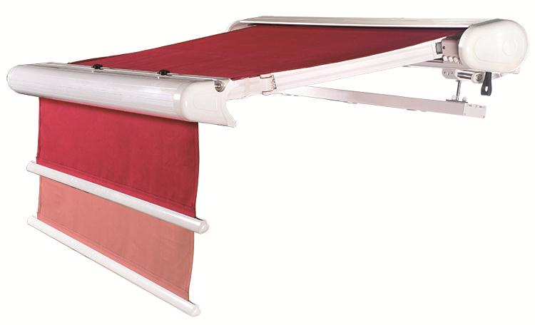 Outdoor Deluxe Full Cassette Double-roller Retractable Awning