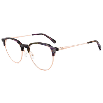7baac816a7e 2018 hotest half-rim eye glasses frames acetate optical eyewear ready goods
