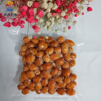 quality chilli sauce salted coated flavored peanuts making plant
