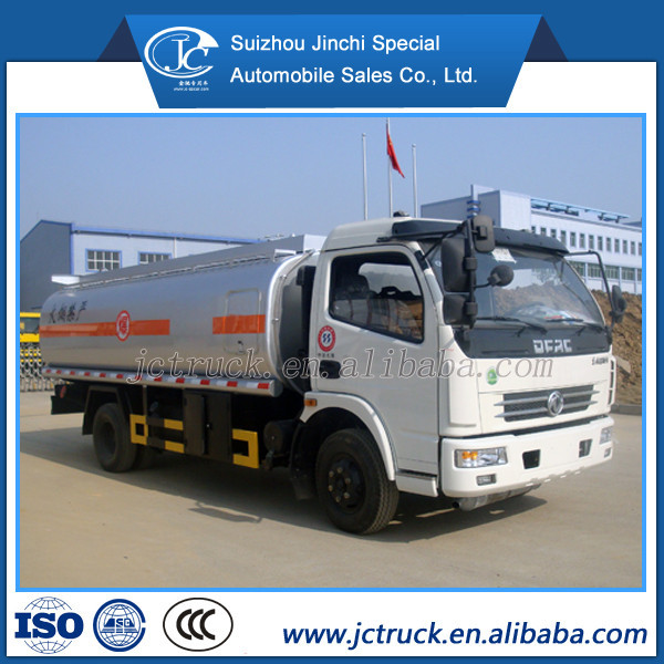 China Cheap Price of 8-10m3 diesel bowser with diesel engine