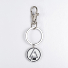 Unique Color Printing Rock Band Photo Pendant Keyring Linkin Park Logo Stainless Steel Custom Keychain